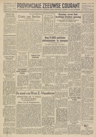 Provinciale Zeeuwse Courant 1948-04-03