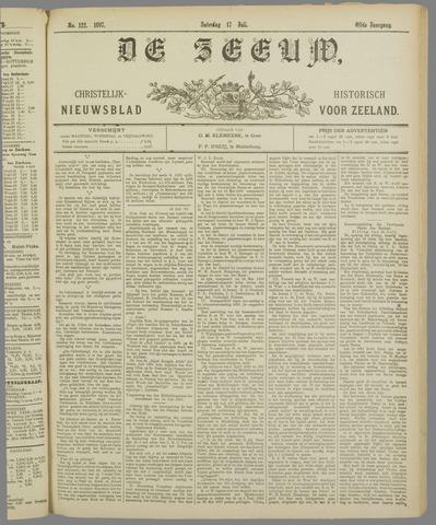 De Zeeuw. Christelijk-historisch nieuwsblad voor Zeeland 1897-07-17