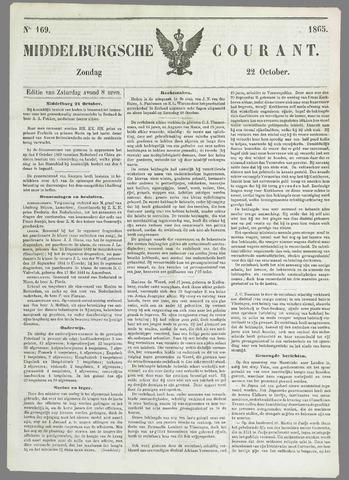 Middelburgsche Courant 1865-10-22
