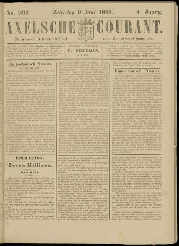 Axelsche Courant 1888-06-09