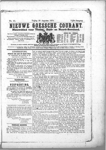 Nieuwe Goessche Courant 1870-08-26