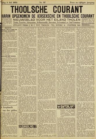 Ierseksche en Thoolsche Courant 1935-07-05