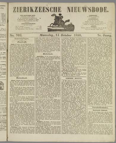 Zierikzeesche Nieuwsbode 1850-10-14