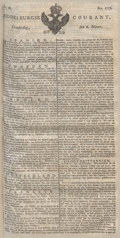 Middelburgsche Courant 1777-03-06