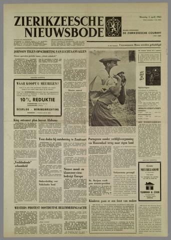Zierikzeesche Nieuwsbode 1965-04-05