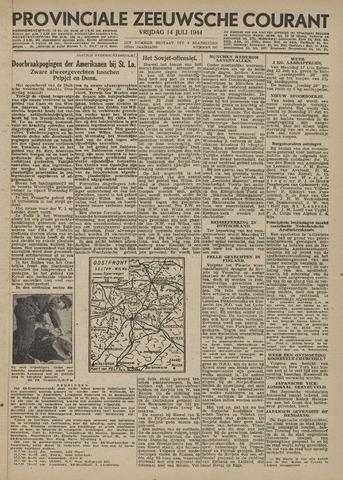 Provinciale Zeeuwse Courant 1944-07-14