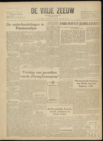 de Vrije Zeeuw 1952-01-02