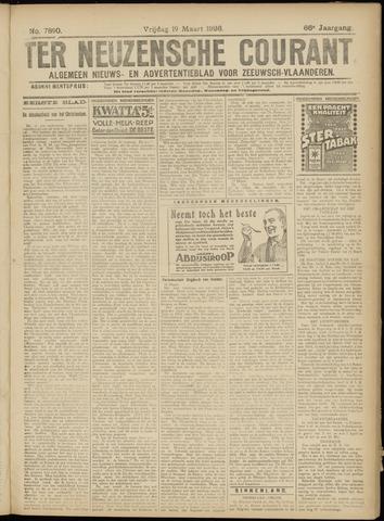 Ter Neuzensche Courant. Algemeen Nieuws- en Advertentieblad voor Zeeuwsch-Vlaanderen / Neuzensche Courant ... (idem) / (Algemeen) nieuws en advertentieblad voor Zeeuwsch-Vlaanderen 1926-03-19