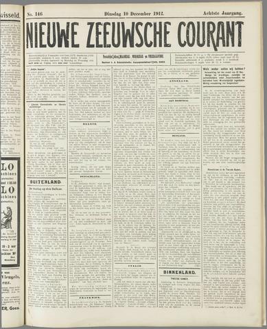 Nieuwe Zeeuwsche Courant 1912-12-10