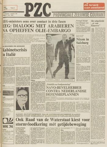 Provinciale Zeeuwse Courant 1974-06-11