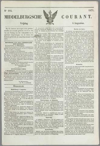 Middelburgsche Courant 1871-08-04