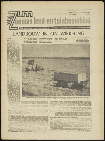 Zeeuwsch landbouwblad ... ZLM land- en tuinbouwblad 1964-02-21