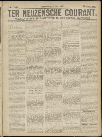 Ter Neuzensche Courant. Algemeen Nieuws- en Advertentieblad voor Zeeuwsch-Vlaanderen / Neuzensche Courant ... (idem) / (Algemeen) nieuws en advertentieblad voor Zeeuwsch-Vlaanderen 1920-06-10