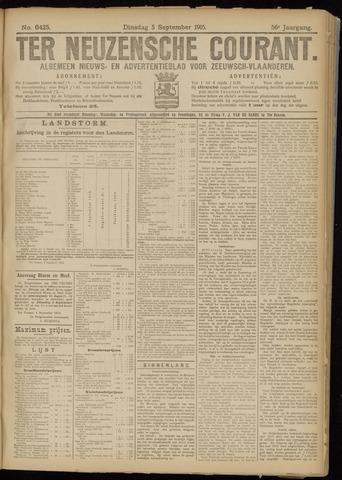 Ter Neuzensche Courant. Algemeen Nieuws- en Advertentieblad voor Zeeuwsch-Vlaanderen / Neuzensche Courant ... (idem) / (Algemeen) nieuws en advertentieblad voor Zeeuwsch-Vlaanderen 1916-09-05