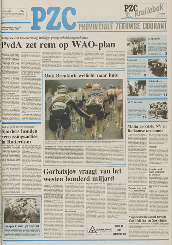 Provinciale Zeeuwse Courant 1991-07-16