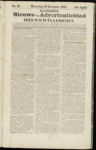 Ter Neuzensche Courant. Algemeen Nieuws- en Advertentieblad voor Zeeuwsch-Vlaanderen / Neuzensche Courant ... (idem) / (Algemeen) nieuws en advertentieblad voor Zeeuwsch-Vlaanderen 1862-12-24