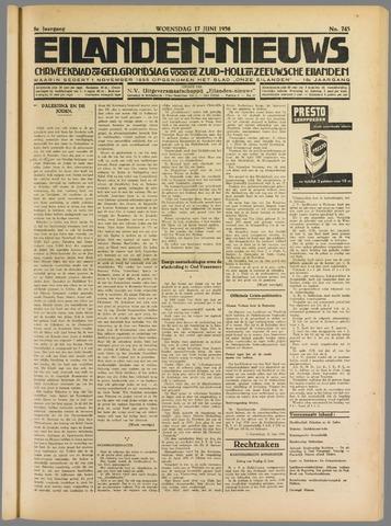 Eilanden-nieuws. Christelijk streekblad op gereformeerde grondslag 1936-06-17