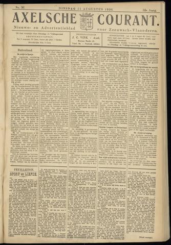 Axelsche Courant 1936-08-11