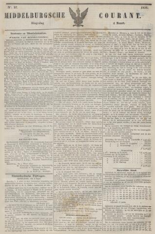 Middelburgsche Courant 1851-03-04