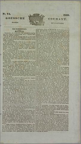 Goessche Courant 1839-09-16