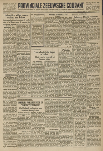Provinciale Zeeuwse Courant 1945-12-29