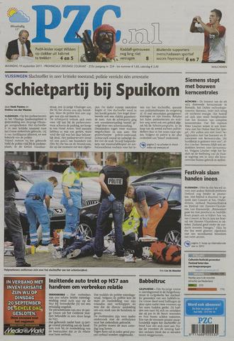 Provinciale Zeeuwse Courant 2011-09-19