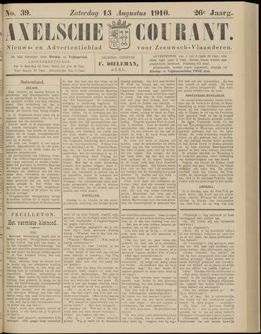 Axelsche Courant 1910-08-13