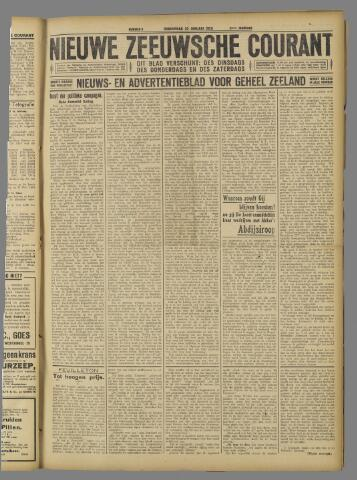 Nieuwe Zeeuwsche Courant 1925-01-22