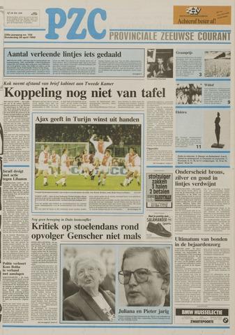 Provinciale Zeeuwse Courant 1992-04-30