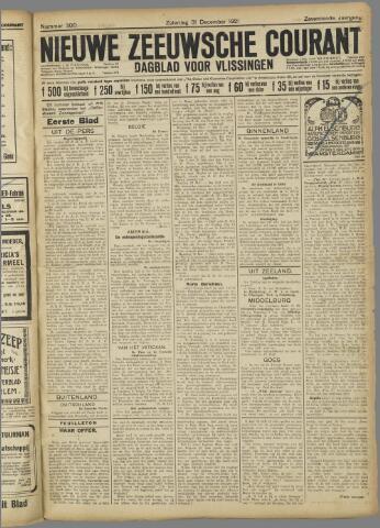 Nieuwe Zeeuwsche Courant 1921-12-31