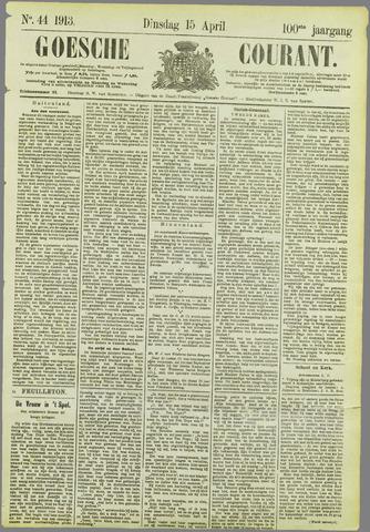 Goessche Courant 1913-04-15