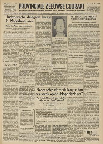 Provinciale Zeeuwse Courant 1949-12-27