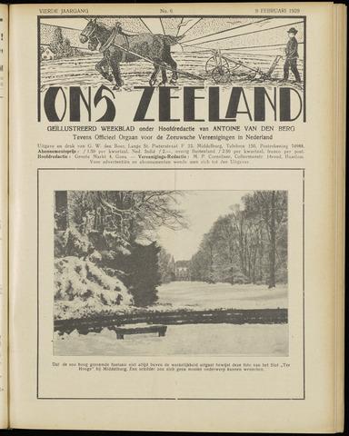 Ons Zeeland / Zeeuwsche editie 1929-02-09