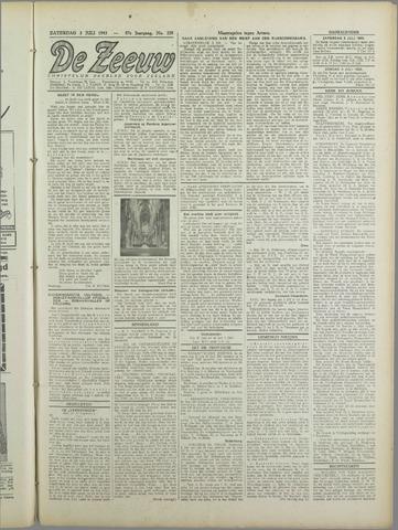De Zeeuw. Christelijk-historisch nieuwsblad voor Zeeland 1943-07-03
