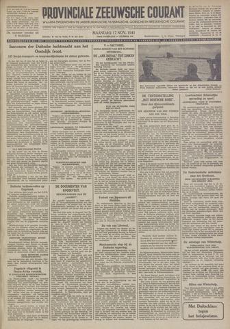 Provinciale Zeeuwse Courant 1941-11-17