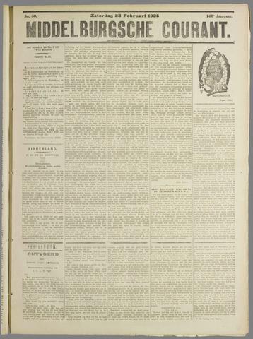 Middelburgsche Courant 1925-02-28