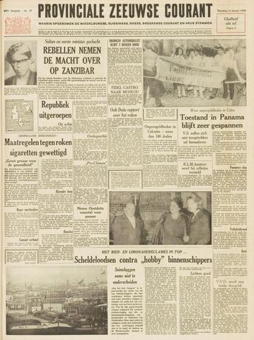 Provinciale Zeeuwse Courant 1964-01-13