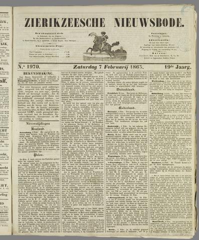 Zierikzeesche Nieuwsbode 1863-02-07