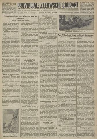 Provinciale Zeeuwse Courant 1942-06-20