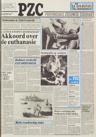 Provinciale Zeeuwse Courant 1986-07-08