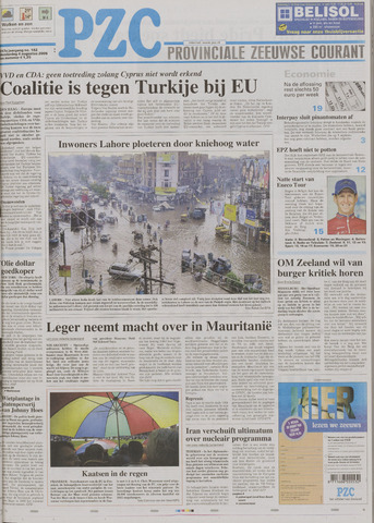 Provinciale Zeeuwse Courant 2005-08-04