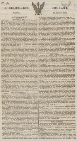 Middelburgsche Courant 1829-08-11
