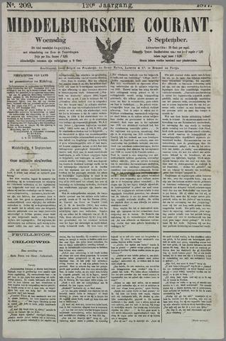 Middelburgsche Courant 1877-09-05