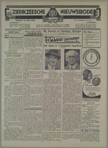 Zierikzeesche Nieuwsbode 1936-06-19