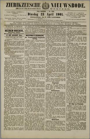 Zierikzeesche Nieuwsbode 1901-04-23