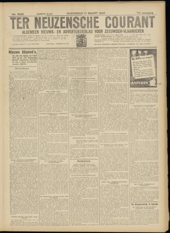 Ter Neuzensche Courant. Algemeen Nieuws- en Advertentieblad voor Zeeuwsch-Vlaanderen / Neuzensche Courant ... (idem) / (Algemeen) nieuws en advertentieblad voor Zeeuwsch-Vlaanderen 1937-03-17
