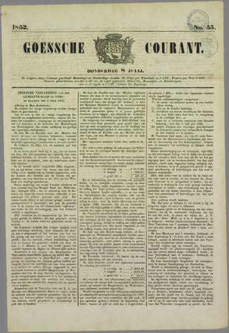 Goessche Courant 1852-07-08