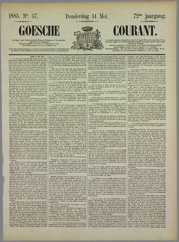 Goessche Courant 1885-05-14