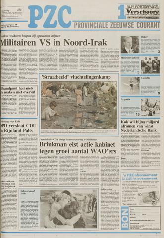 Provinciale Zeeuwse Courant 1991-04-22