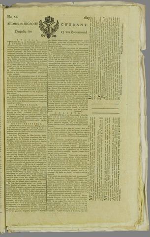 Middelburgsche Courant 1809-06-13